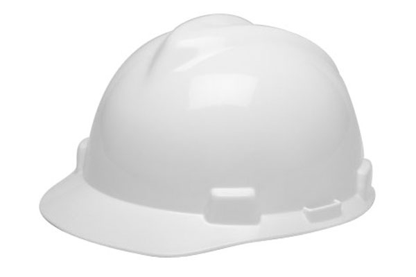463942 V-Gard Safety Cap สีขาว